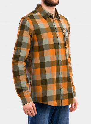 Koszula Columbia Triple Canyon LS Shirt - safari grid buffalo