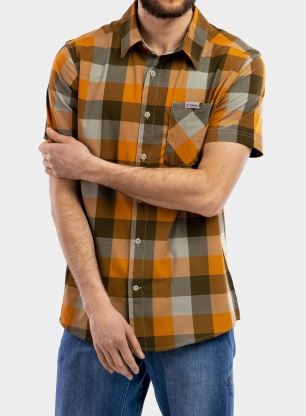 Koszula Columbia Triple Canyon S/S Shirt - safari grid buffalo