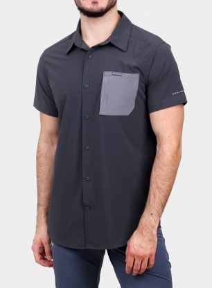 Koszula Columbia Triple Canyon SS Shirt - shark