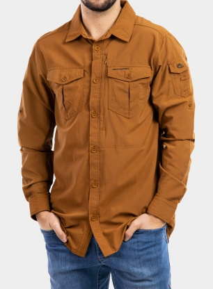 Koszula Craghoppers NosiLife Adventure II L/S Shirt - rubber