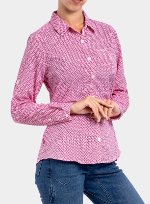 Koszula damska Craghoppers NosiLife Verona LS Shirt - winter rose