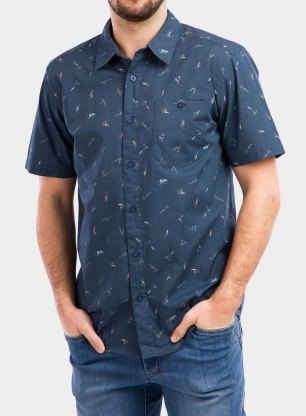 Koszula Patagonia Go To Shirt - surfers/stone blue