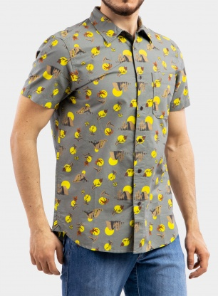 Koszula The North Face Baytrail Pattern Shirt S/S - valley