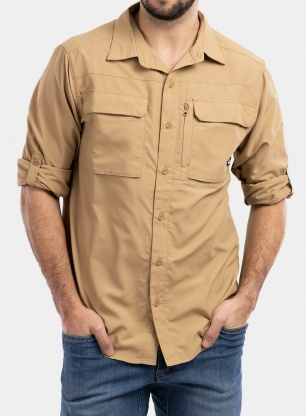 Koszula The North Face Sequoia Shirt L/S - moab khaki