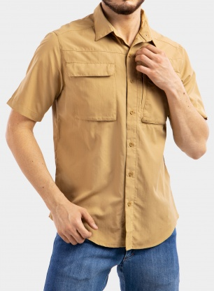 Koszula The North Face Sequoia Shirt S/S - moab khaki