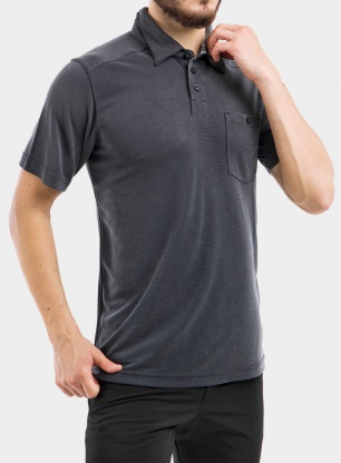 Koszulka Columbia Sun Ridge II Novelty Polo - black