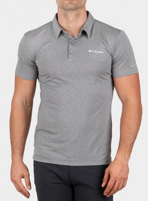 T-shirt Columbia Triple Canyon Tech Polo - columbia grey heather