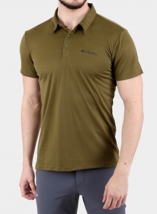 Polo Columbia Triple Canyon Tech Polo - new olive