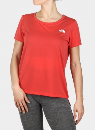 Koszulka damska The North Face Quest Tee - red