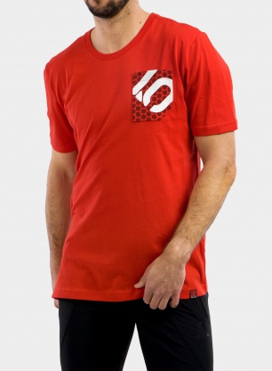 Koszulka Five Ten Brand of the Brave T-Shirt - red