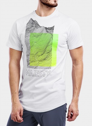 Koszulka Majesty Super T-Shirt - white