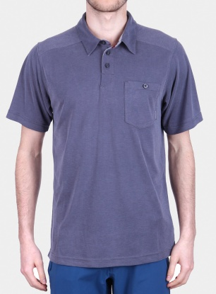 Koszulka na lato Columbia Sun Ridge II Novelty Polo - india ink