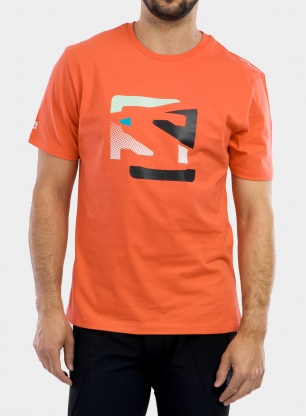 Koszulka Salomon Outlife Graphic Disrupted Logo SS Tee - crl