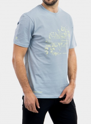 Koszulka Salomon Outlife Graphic Salomonot One SS Tee - blu