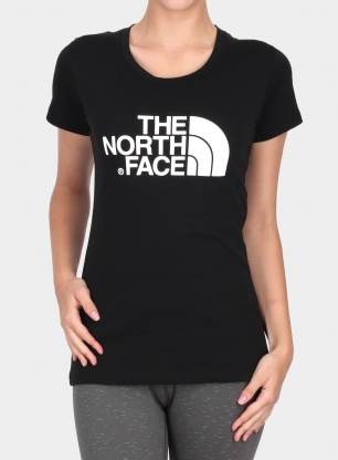 Koszulka damska The North Face Easy Tee S/S - tnf black/black