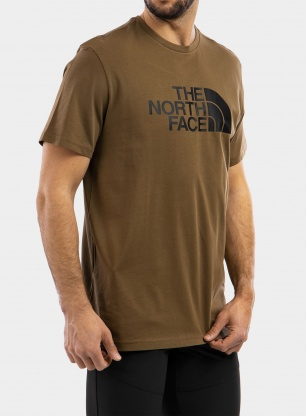 Koszulka The North Face Easy Tee S/S - military olive