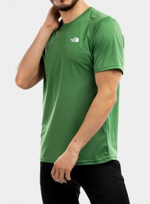 Koszulka The North Face Flex II S/S - sullivan green