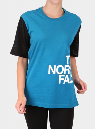 Damski T-shirt The North Face Light Tee S/S - crystal teal