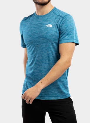 Koszulka The North Face Lightning S/S Tee - moroccan blue