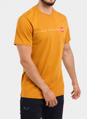 Koszulka The North Face Never Stop Exploring Tee S/S - timber tan