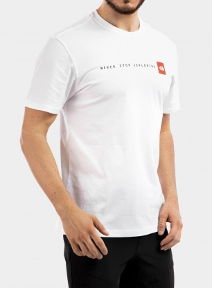 Koszulka The North Face Never Stop Exploring Tee S/S - white
