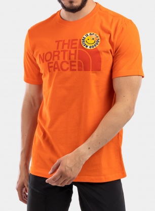 Koszulka The North Face Patches Tee S/S - flame