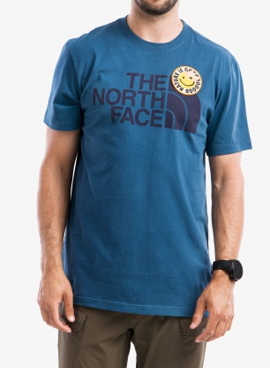 Koszulka The North Face Patches Tee S/S - monterey blue