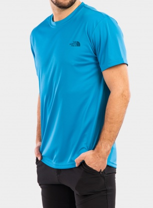 Koszulka The North Face Reaxion Amp Crew - meridian blue
