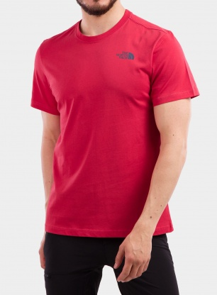 Koszulka The North Face Redbox Celebration Tee S/S - red
