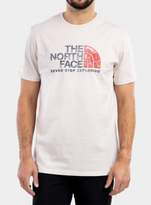 Koszulka The North Face Rust 2 Tee S/S - vintage white