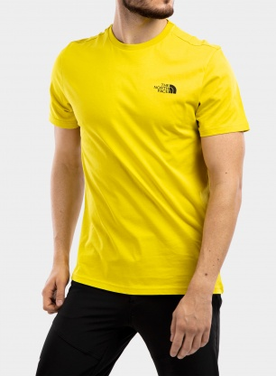 Koszulka The North Face Simple Dome Tee S/S - citronelle