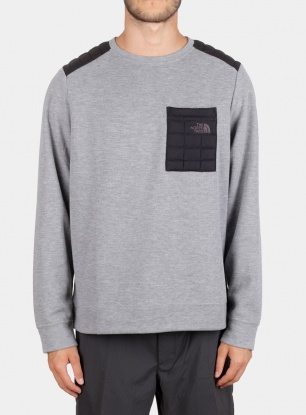 Bluza The North Face Slacker Thermoball Crew - mid grey