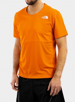 Koszulka The North Face True Run S/S Shirt - flame