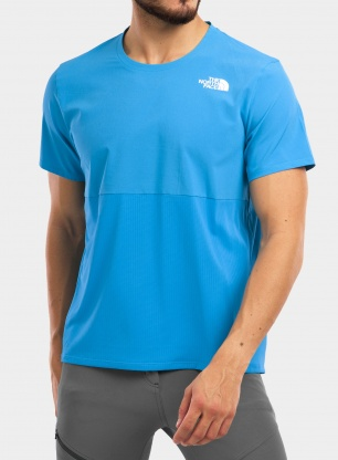 Koszulka The North Face True Run S/S Shirt - meridian blue