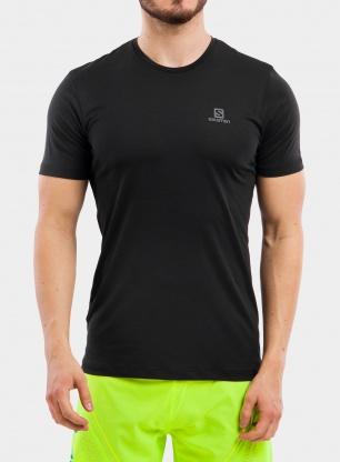 Koszulka treningowa Salomon Agile Training Tee - black