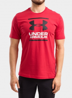 Koszulka Under Armour GL Foundation SS T - red/white/black