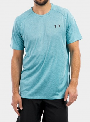 Koszulka Under Armour Tech 2.0 SS Tee - cosmos/black