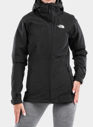 Kurtka 3w1 damska The North Face Inlux Triclimate - black