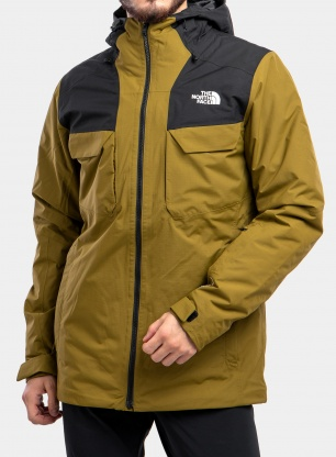 Kurtka 3w1 The North Face Fourbarrel Triclimate - fir green/tnf black