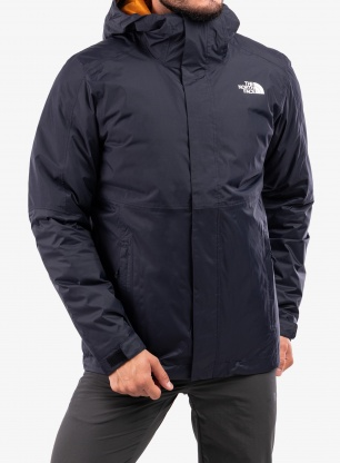 Kurtka 3w1 The North Face New DryVent Down Triclimate - navy