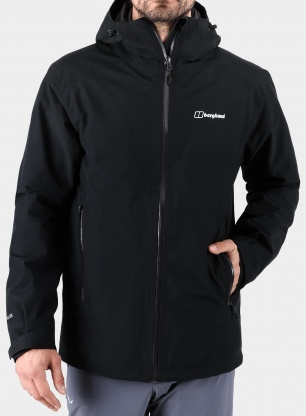 Kurtka Berghaus Ridgemaster HL Gemini 3 in 1 Jacket - jet black/grey
