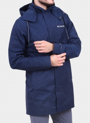 Kurtka Columbia East Park Mackintosh Jacket - navy