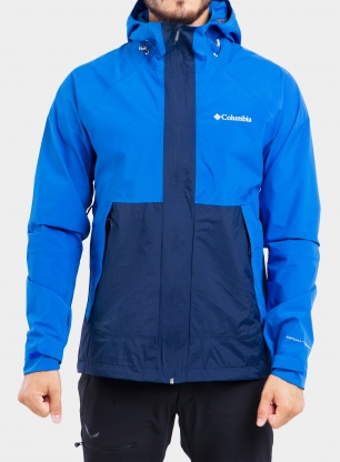 Kurtka Columbia Evolution Valley Jacket - bright indigo/c.navy