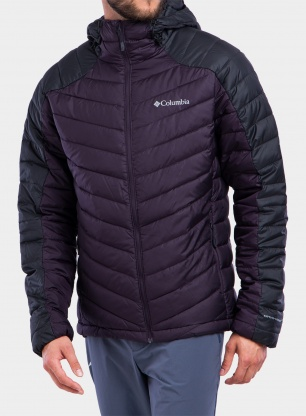 Kurtka Columbia Horizon Explorer Hooded Jacket - purple/shark