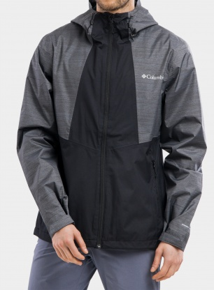 Kurtka Columbia Inner Limits II Jacket - black/graphite heather
