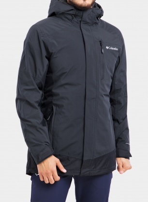 Kurtka Columbia Lhotse III Interchange Jacket - black