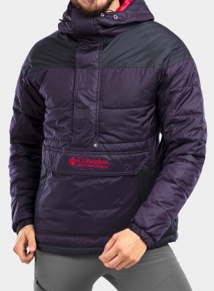 Kurtka Columbia Lodge Pullover Jacket - purple/shark
