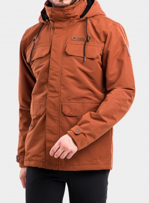 Kurtka Columbia South Canyon Lined Jacket - dark amber