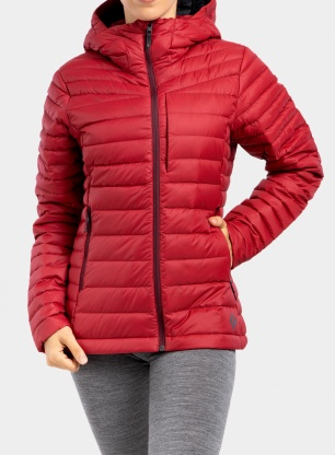 Kurtka damska Black Diamond Access Down Hoody - vermillion