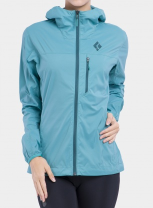 Kurtka damska Black Diamond Alpine Start Hoody - aquamarine